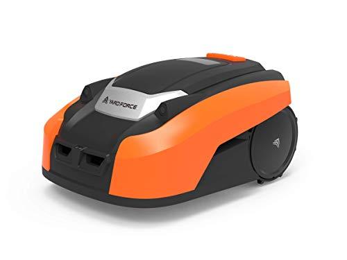 Yard Force Mähroboter LUV 600Ri bis zu 600 qm - Selbstfahrender Rasenmäher Roboter mit...