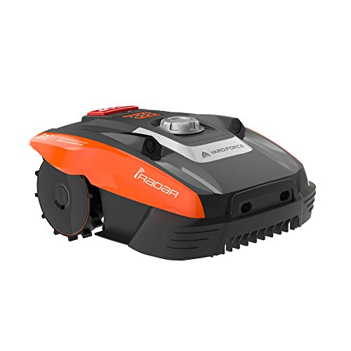 Yard Force Mähroboter COMPACT 400Ri bis zu 400 qm - Selbstfahrender Rasenmäher Roboter mit...