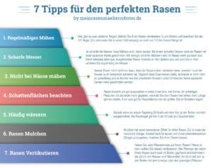 Sieben Tipps grafisch dargestellt