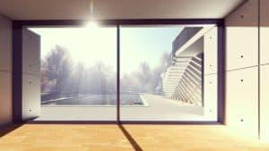 Ein Fenster wie gemacht für den Sichler Fensterputzroboter