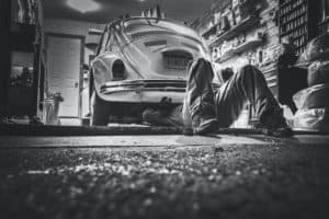 Mähroboter Garage / Unterstand / Carport